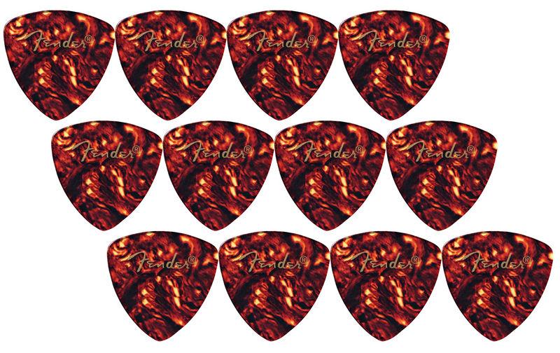 Fender Triangle Picks Shell Set Thin