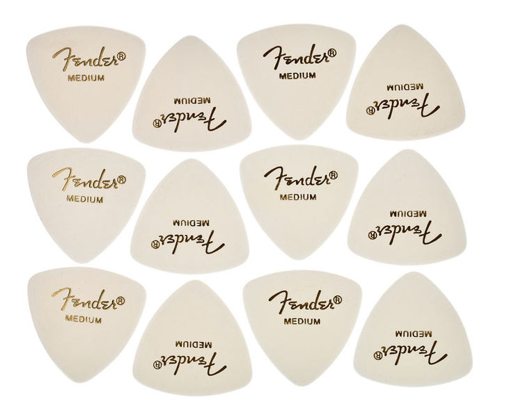 Fender Triangle Picks WH Set Medium