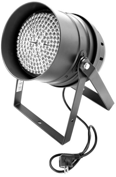 Stairville LED PAR 64 10 mm black Floor