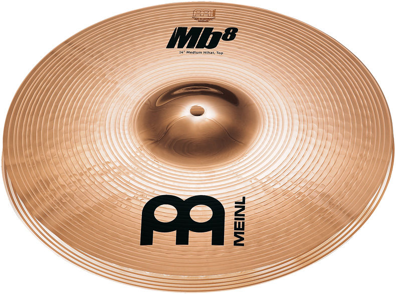 "Meinl 14"" MB8 Medium Hi-Hat"