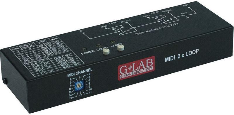 G Lab MIDI 2x Looper