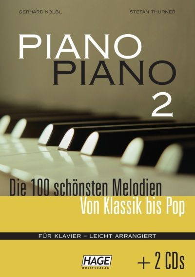 Hage Musikverlag Piano Piano Vol.2 Easy +CD