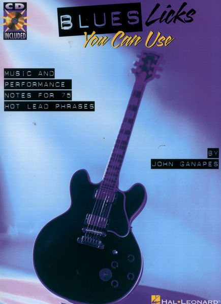 Hal Leonard Blues Licks You Can Use