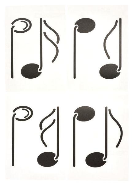 Design-Studio Worms Sticker Notes-Set 1 Anthr.