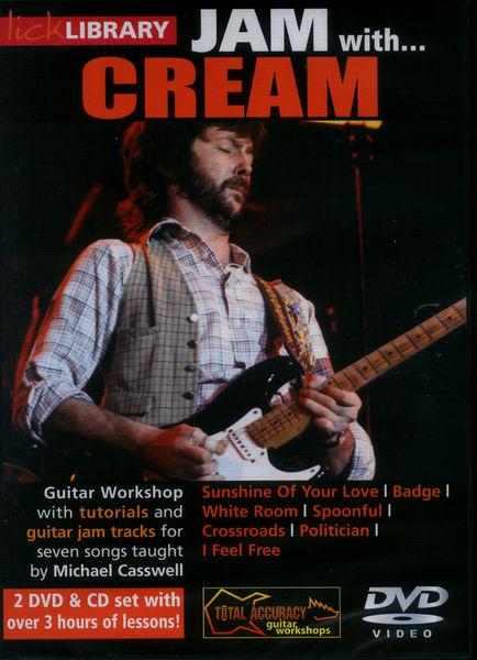 Music Sales Jam With Cream (DVD)