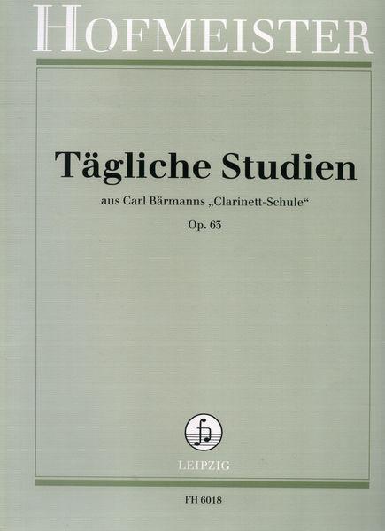 Hofmeister Verlag Tägliche Studien (Cl)