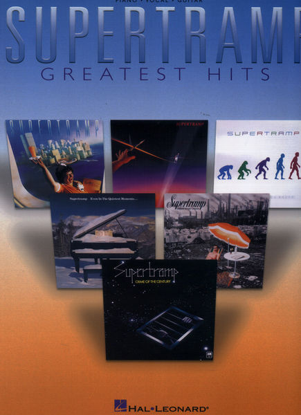 Hal Leonard Supertramp Greatest Hits PVG