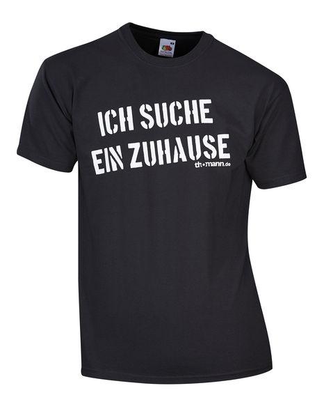 "Thomann T-Shirt ""Ich suche..."" L BK"