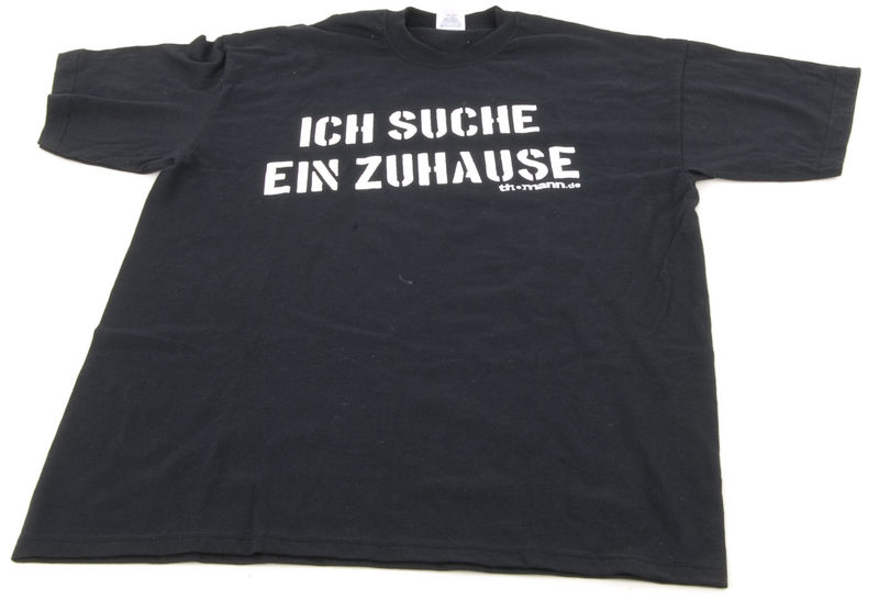 """Thomann T-Shirt """"Ich suche..."""" XXL BK"""