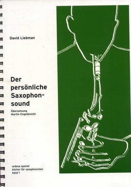 Musikverlag Chili Notes Der Persönliche Saxophonsound