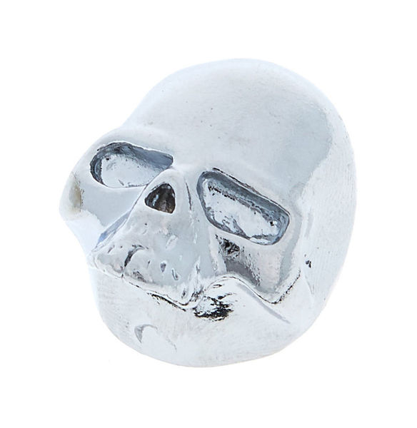 Q-Parts Custom Potiknob Skull 2 Chrom