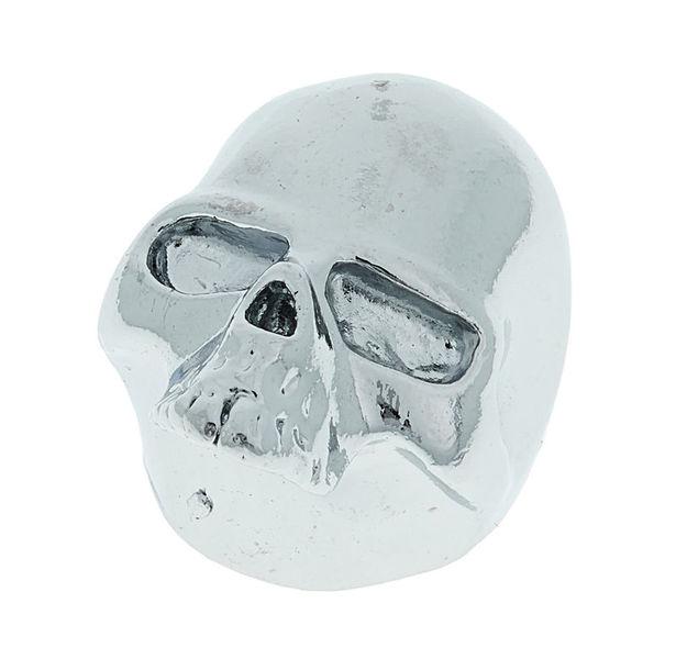 Q-Parts Custom Potiknob Skull 2 Chrom