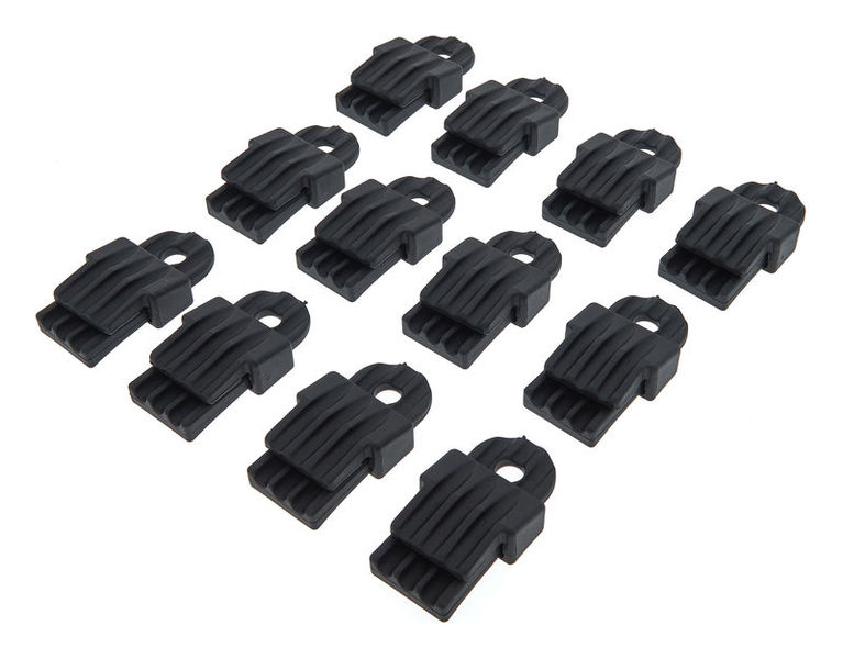 Holdon Maxi Clip Black 12pcs Pack