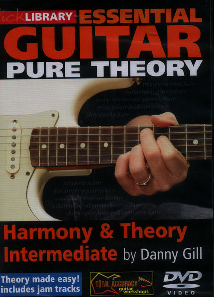 Music Sales Harmony & Theory Intermed(DVD)