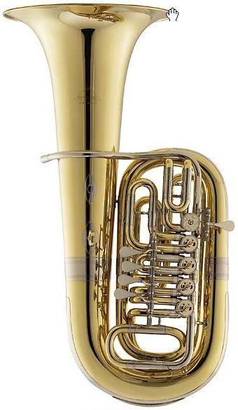Miraphone 80B 07000 F- Tuba