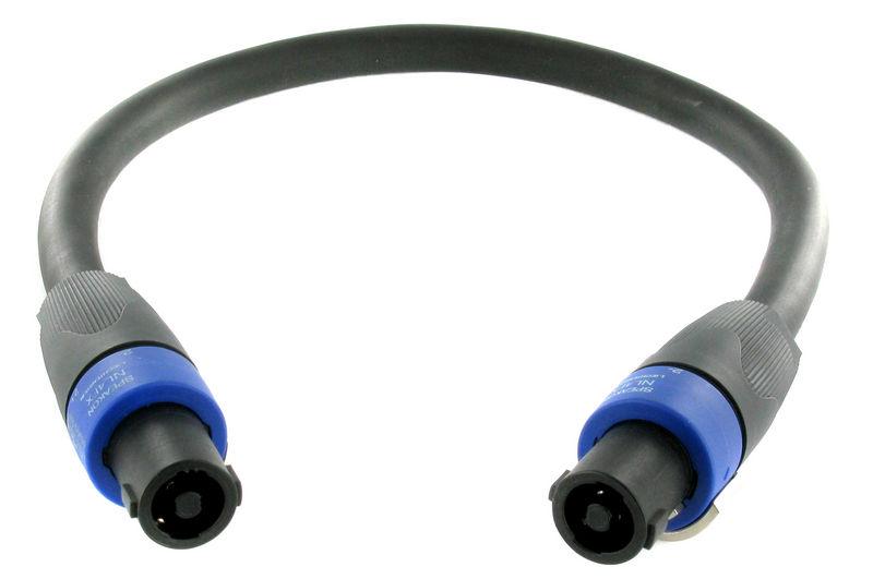 pro snake 14710-0,5 Speaker Twist 4-pin
