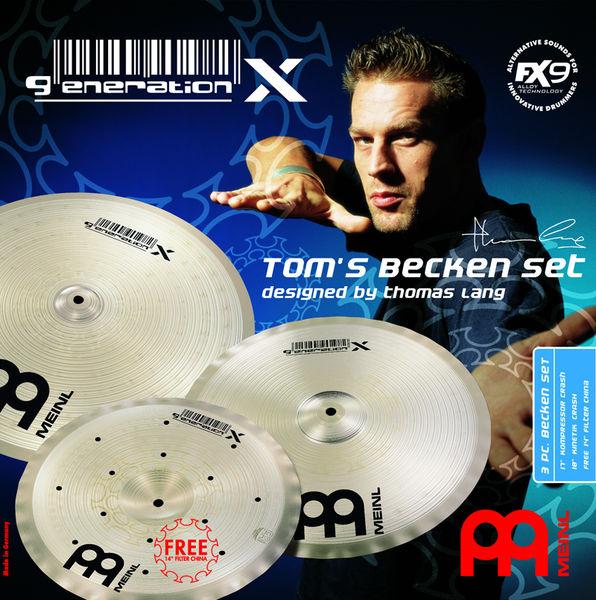 Meinl GX-TB 14/17/18 Thomas Lang Set