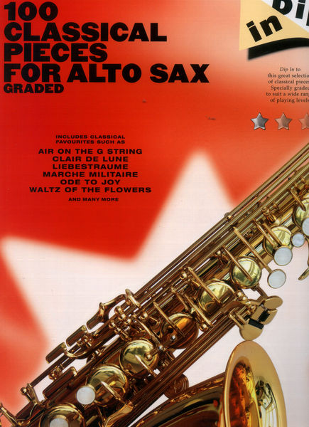 Hal Leonard 100 Classical Pieces Sax