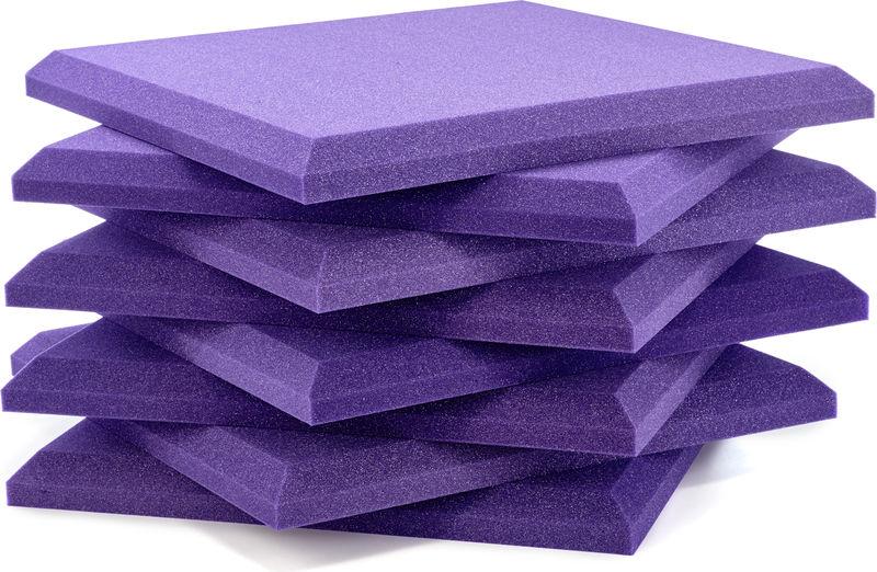 """Auralex Acoustics 2"""" SonoFlat Purple"""