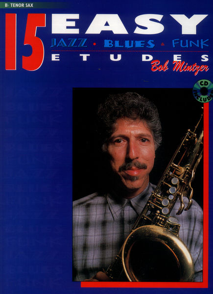 Alfred Music Publishing 15 Easy Etudes Tenor Sax