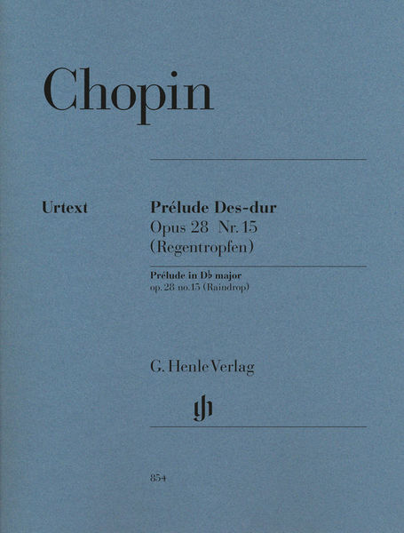 Henle Verlag Chopin Prélude Des-Dur