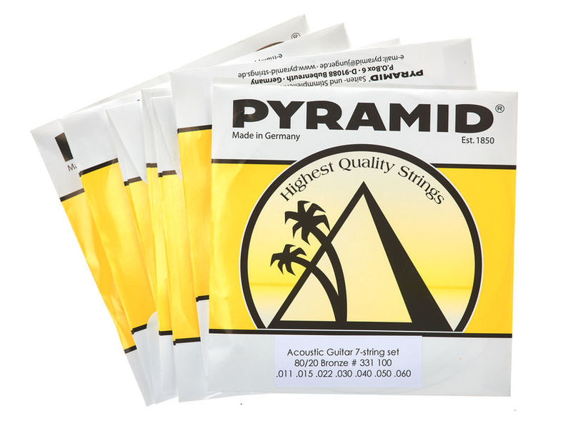 Pyramid 331/100 7 String Set
