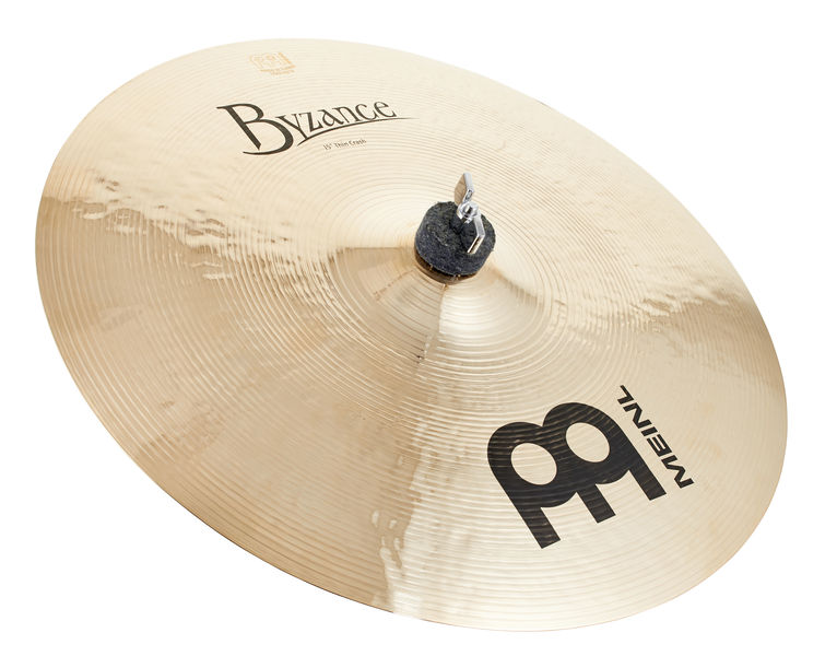 "Meinl 15"" Byzance Thin Crash Brill."