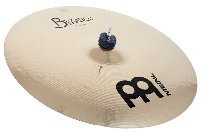 "Meinl 16"" Byzance Thin Crash Brill."