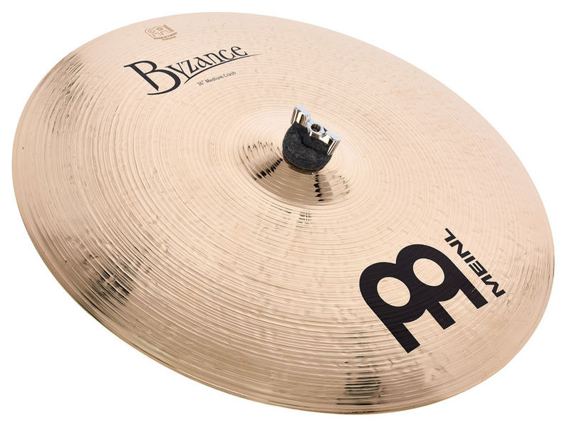 "Meinl 16""Byzance Medium Crash Brill."