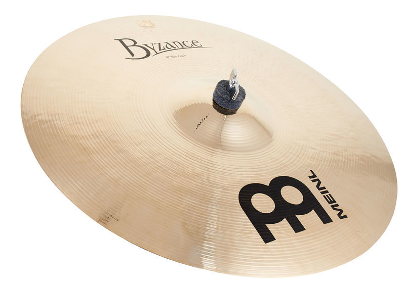 "Meinl 18"" Byzance Thin Crash Brill."