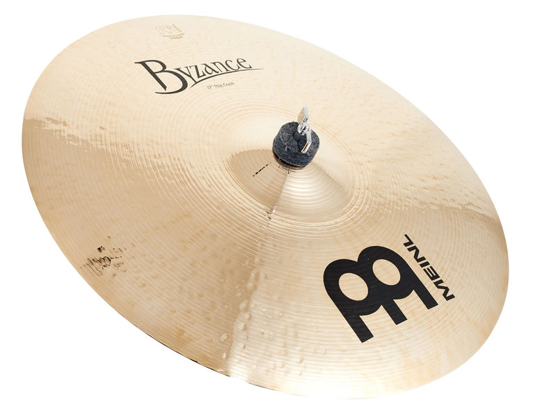 "Meinl 17"" Byzance Thin Crash Brill."
