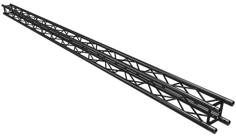 Global Truss F14250-B Truss Black 2,5 m