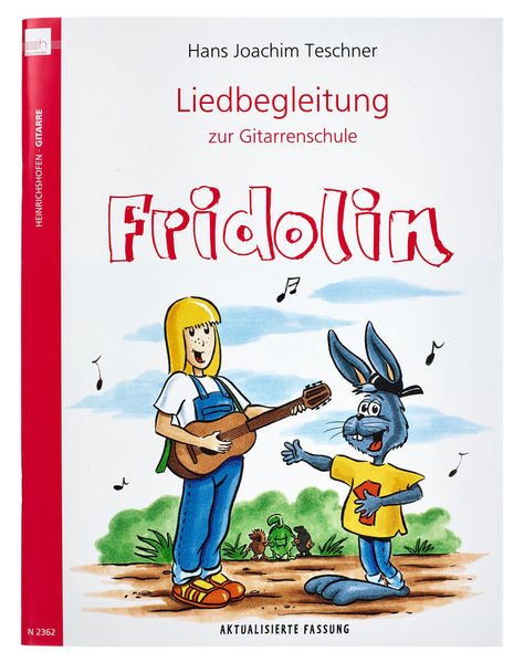 E Heinrichshofen Liedbegleitung Großer Fridolin