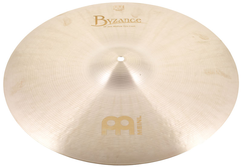 "Meinl 18"" Byzance Jazz M.Thin Crash"