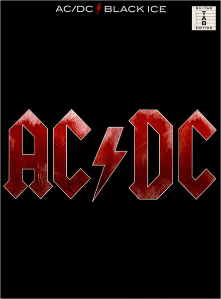 Wise Publications AC/DC Black Ice
