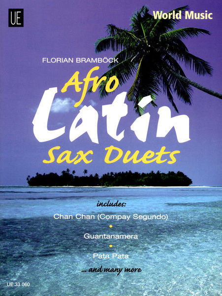 Universal Edition Afro Latin Sax Duets