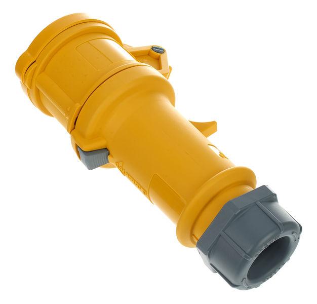 Mennekes CEE Plug Female 3 Pole Yellow