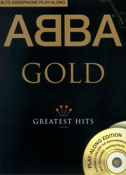 Wise Publications ABBA Gold für Alto Saxophone