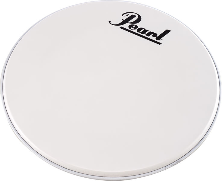 "Pearl 24"" Bass Drum Front Head White"