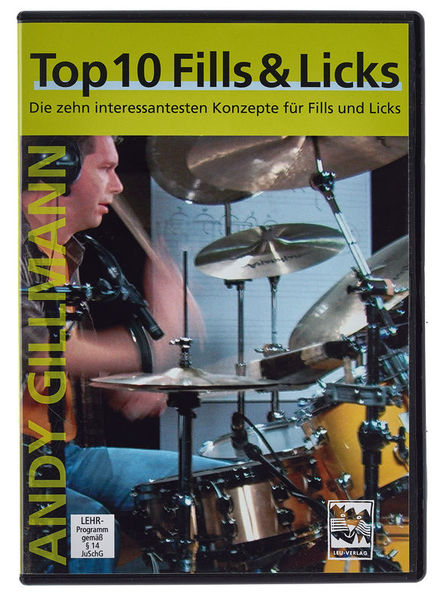 Leu Verlag Top 10 Fills & Licks DVD