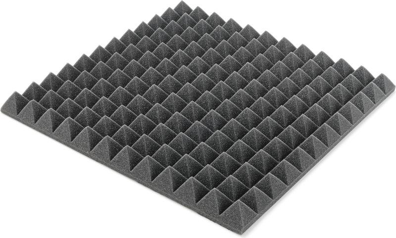 "Auralex Acoustics 2"" Studiofoam Pyramids Charcoa"