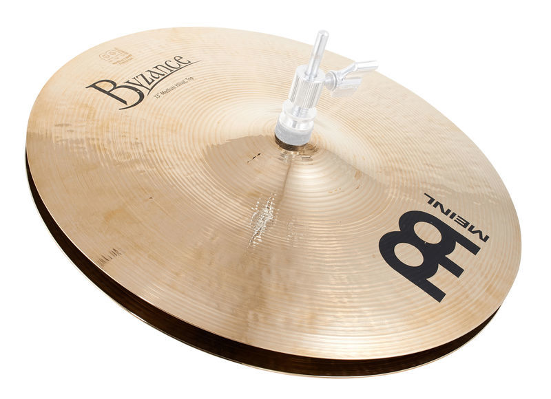 "Meinl 13"" Byzance Hi-Hat Brilliant"