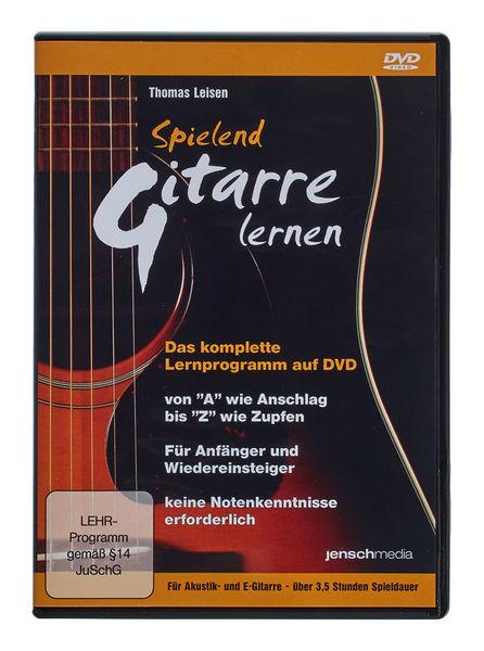 Jenschmedia Spielend Gitarre lernen 1 DVD
