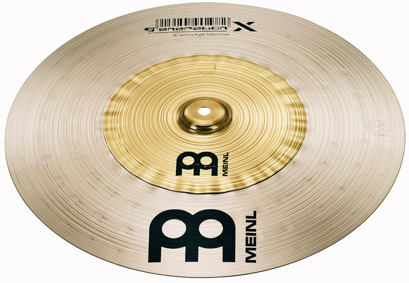 "Meinl 16"" Generation X Safari Crash"