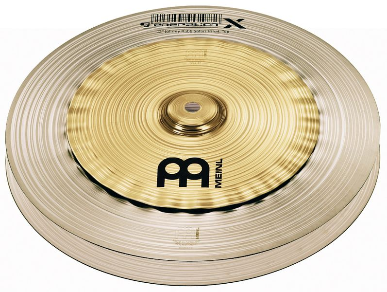 "Meinl 12"" Generation X Safari Hi-Hat"
