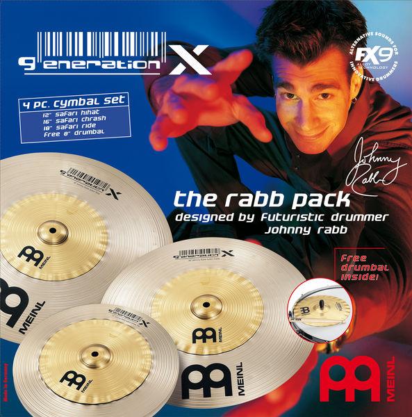 "Meinl Generation X ""The Rabb Pack"""