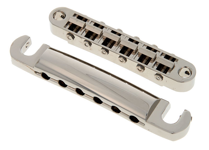 Gold Tune-o-Matic Guitar Bass Bridge /& Stopbar Tailpiece 4 String Slotted Parts