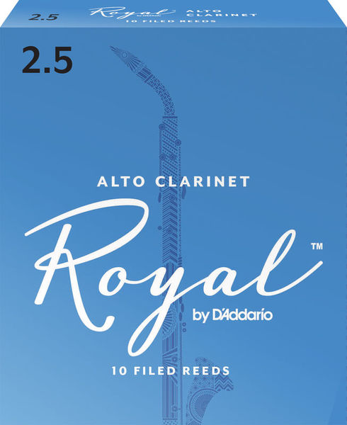 Daddario Woodwinds Royal Boehm Alto Clarinet 2,5
