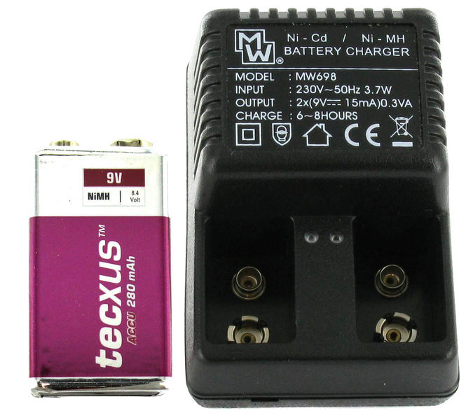 Tecxus 9V Power-Set