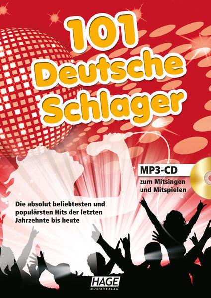 Hage Musikverlag 101 Deutsche Schlager MP3 CD